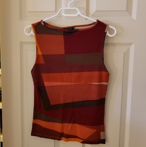 2/$25 The Limited sleeveless colour block top